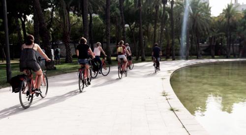 fietsen in valencia turia