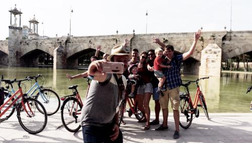 selfie fietstour valencia